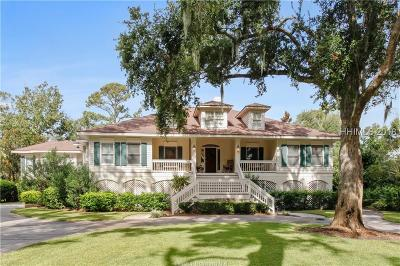 Hilton Head Island Single Family Home For Sale: 37 Sea Lane