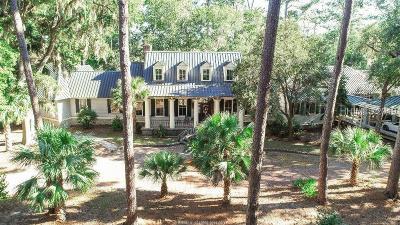 Okatie SC Single Family Home For Sale: $3,200,000