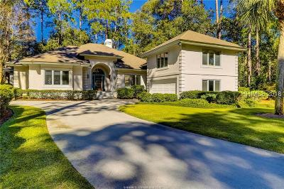 Hilton Head Island Single Family Home For Sale: 100 High Bluff Road