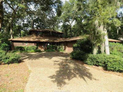 Hilton Head Island Single Family Home For Sale: 5 Saw Timber Drive