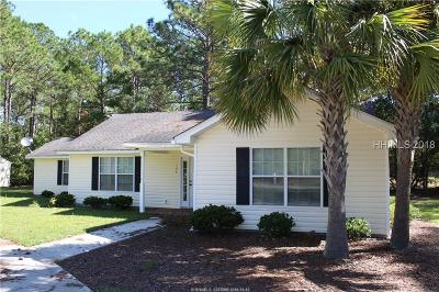 Hardeeville Single Family Home For Sale: 196 Prince Court