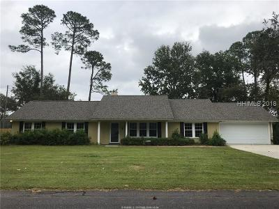 Beaufort Single Family Home For Sale: 5927 Pleasant Farm Drive