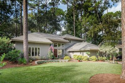 Hilton Head Island Single Family Home For Sale: 71 Club Course Drive