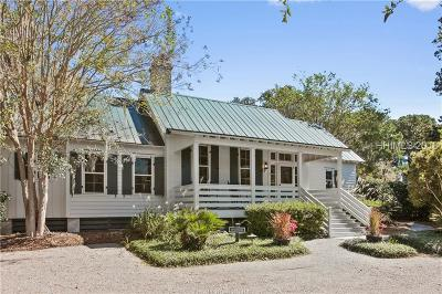 Single Family Home For Sale: 4 Carrier Bluff