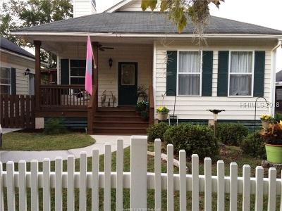 Beaufort Single Family Home For Sale: 5 Caswell Avenue