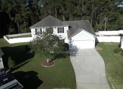 Bluffton Single Family Home For Sale: 225 Knightsbridge Road