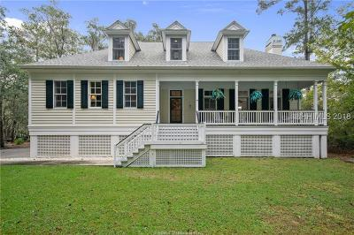 Bluffton Single Family Home For Sale: 1 Oxen Lane