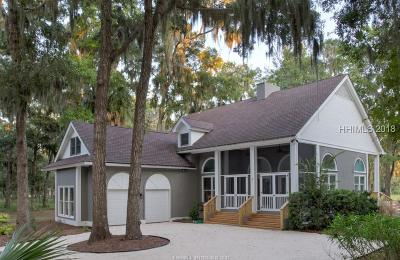 Daufuskie Island Single Family Home For Sale: 61 Forest Lake Drive