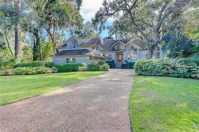 Hilton Head Island, Bluffton Single Family Home For Sale: 5 S Shore Drive