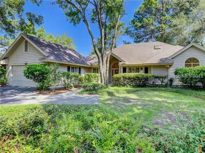 Hilton Head Island Single Family Home For Sale: 40 Cottonwood Lane