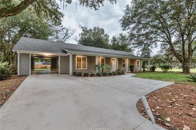 Hardeeville Single Family Home For Sale: 8 Charles Street