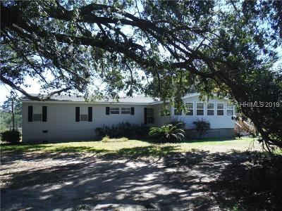 Beaufort Single Family Home For Sale: 15 Busby Drive NE