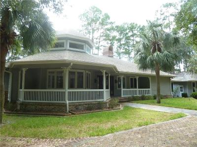 Bluffton Single Family Home For Sale: 113 Gascoigne Bluff Road