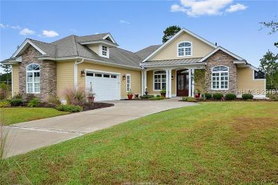 Hardeeville Single Family Home For Sale: 1095 Club Way