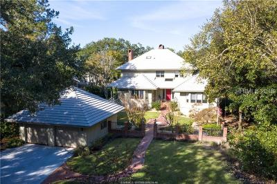 Hilton Head Island SC Single Family Home For Sale: $835,000