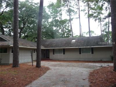 Hilton Head Island Single Family Home For Sale: 25 Governors Lane