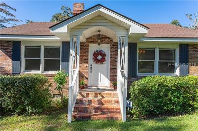 Beaufort Single Family Home For Sale: 750 Ribaut Road