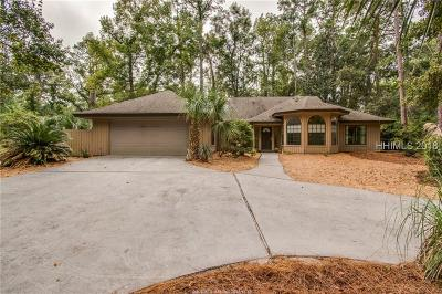 Hilton Head Island Single Family Home For Sale: 117 High Bluff Road