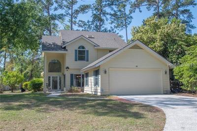 Bluffton Single Family Home For Sale: 13 Pipers Pond Road