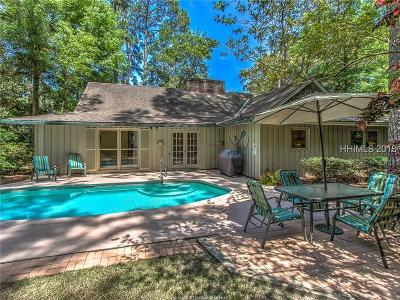Hilton Head Island SC Single Family Home For Sale: $819,000