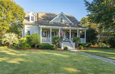 Beaufort Single Family Home For Sale: 3 Waterbird Drive