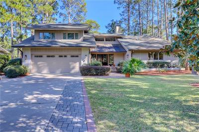 Hilton Head Island Single Family Home For Sale: 28 Club Course Drive