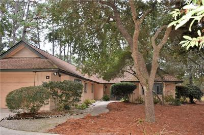 Hilton Head Island Single Family Home For Sale: 4 Sanderling Lane