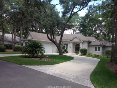 Hilton Head Island Single Family Home For Sale: 46 Wedgefield Drive