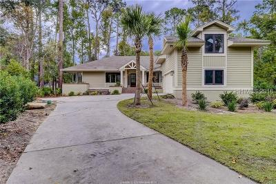 Hilton Head Island Single Family Home For Sale: 6 Pendergrass Court