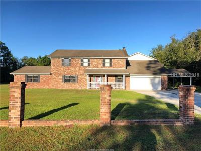 Hardeeville Single Family Home For Sale: 377 Mitchells Court