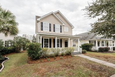 Old Town Bluffton Single Family Home For Sale: 72 Red Cedar Street