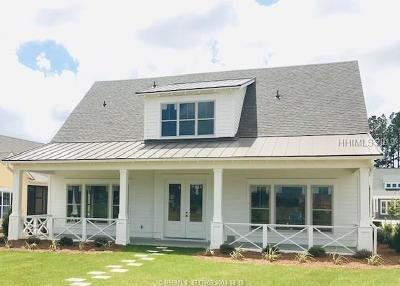 Bluffton Single Family Home For Sale: 318 Castaway Drive
