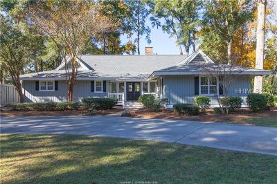 Hilton Head Island Single Family Home For Sale: 18 Timber Lane