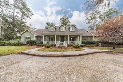 Okatie Single Family Home For Sale: 11 Tabby Point Lane