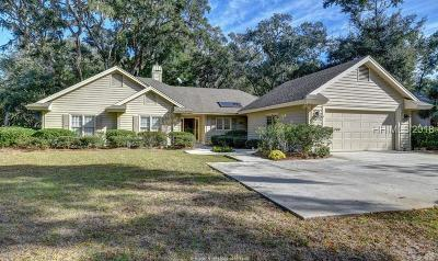 Hilton Head Island Single Family Home For Sale: 1 Dahlgren Lane
