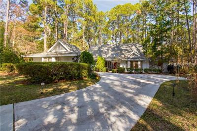 Hilton Head Island Single Family Home For Sale: 4 Leatherwood Court