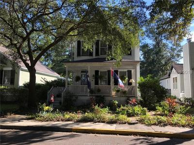 Beaufort Single Family Home For Sale: 2668 Broad Street