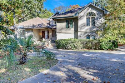 Hilton Head Island Single Family Home For Sale: 14 Haul Away