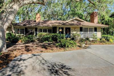 Hilton Head Island Single Family Home For Sale: 26 Ensis Road