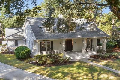 Hilton Head Island Single Family Home For Sale: 6 Cusabo Place