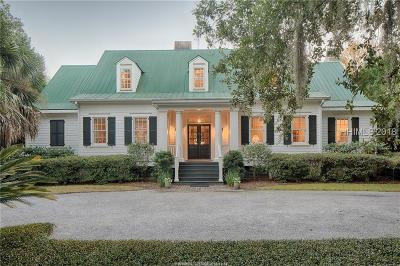 Bluffton Single Family Home For Sale: 75 Myrtle Island Road