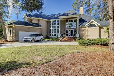 Hilton Head Island Single Family Home For Sale: 11 Yorkshire Drive