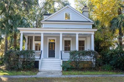 Beaufort County Single Family Home For Sale: 31 Park Square N