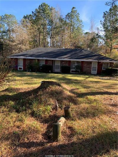 Hardeeville Single Family Home For Sale: 208 Strain Place