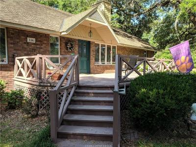 Ridgeland Single Family Home For Sale: 336 R And M Plantation Drive