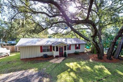 Folly Field Single Family Home For Sale: 12 Oleander St