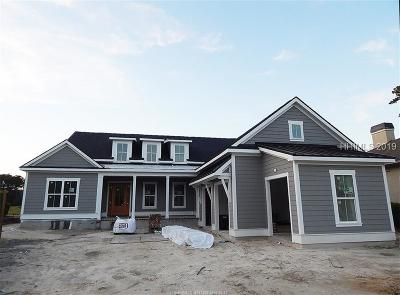 Bluffton Single Family Home For Sale: 6 Lynnfield Place