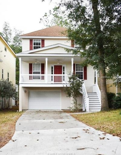 Hilton Head Island Single Family Home For Sale: 21 Gold Oak Court