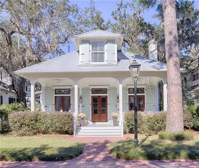 Bluffton Single Family Home For Sale: 17 S Drayton Street