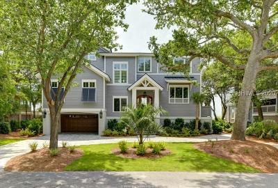 Hilton Head Island Single Family Home For Sale: 9 Iron Clad